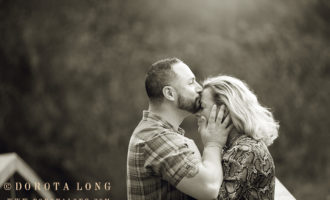 engagement session in Bethel, CT