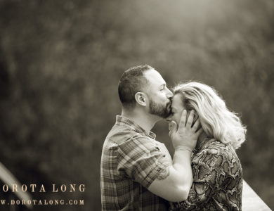Wedding photographer in Bethel :: Engagement session in fall